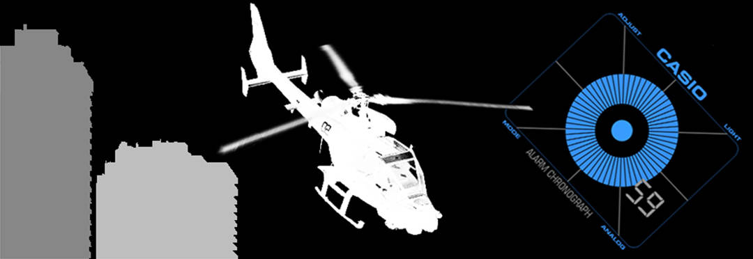 Blue Thunder - Helicopter Hijack - Movie Banner
