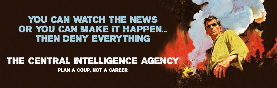 C.I.A. recruiting Banner