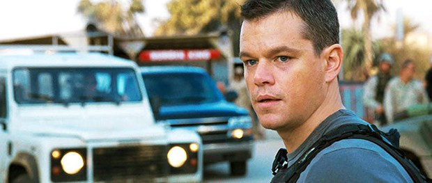 Matt Damon on Streets of Iraq