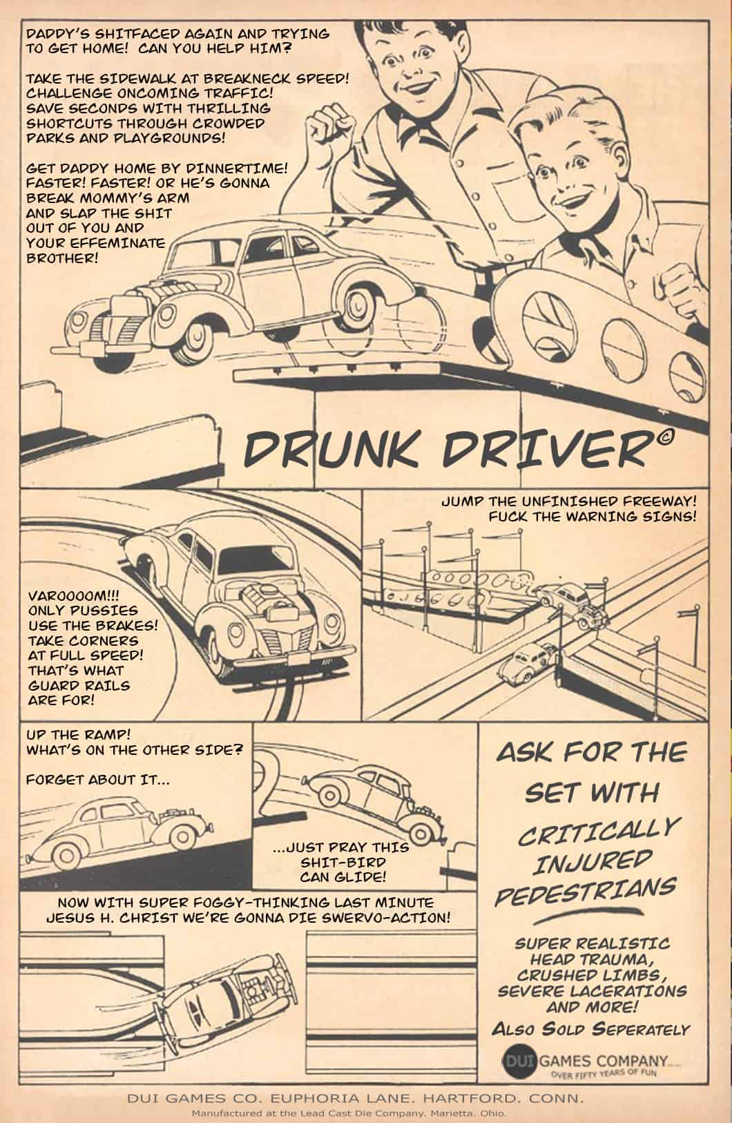 Drunk Driver Game For Boys