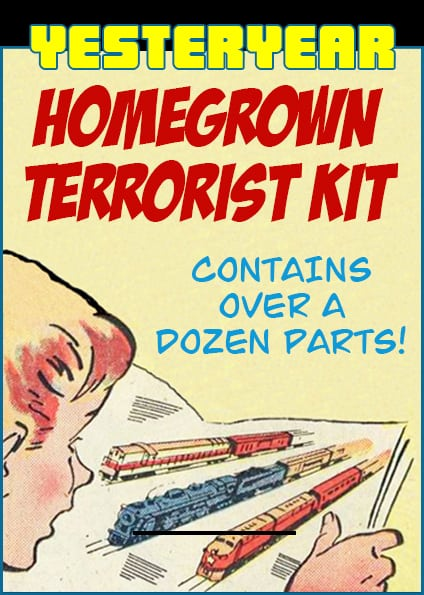 Homegrown Terrorist Kit Vintage Toy Ad