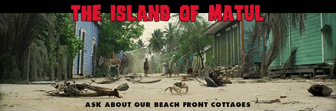 Zombie Flesh Eaters - Island Of Matul - Travel Banner