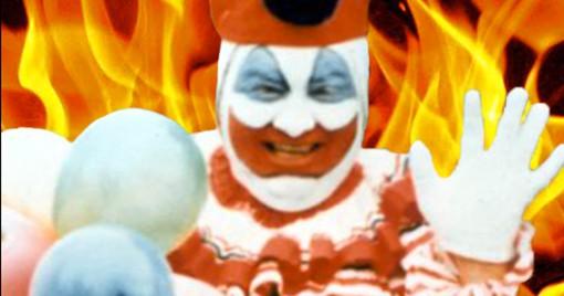 John Wayne Gacy in hell