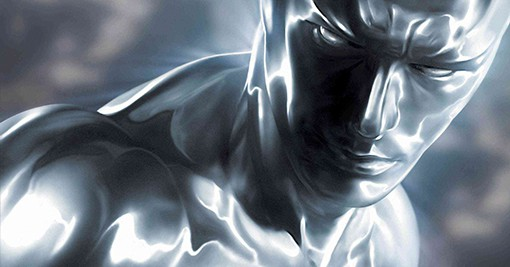 Elusive Silver Surfer