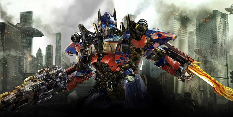 Optimus Prime Destroys Another American City