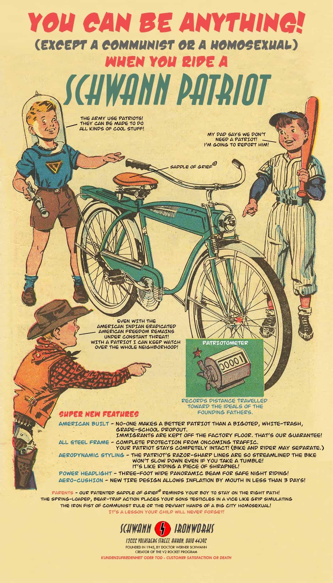 The Schwann Patriot Boys Bicycle