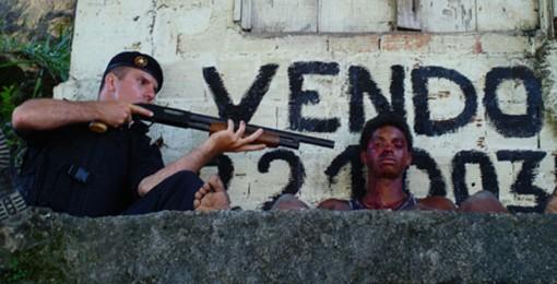 Brazilian Police arrest street kid