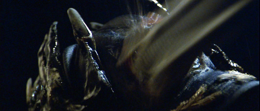 Alien - Xenomorph jaws smash through Stanton's skull.