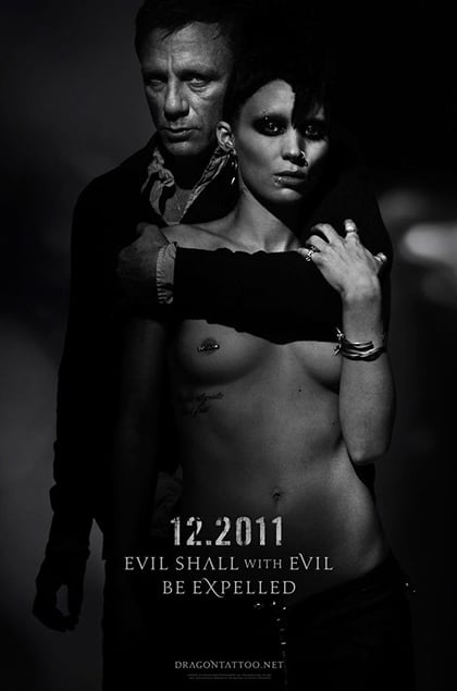 The Girl With The Dragon Tattoo Poster Review