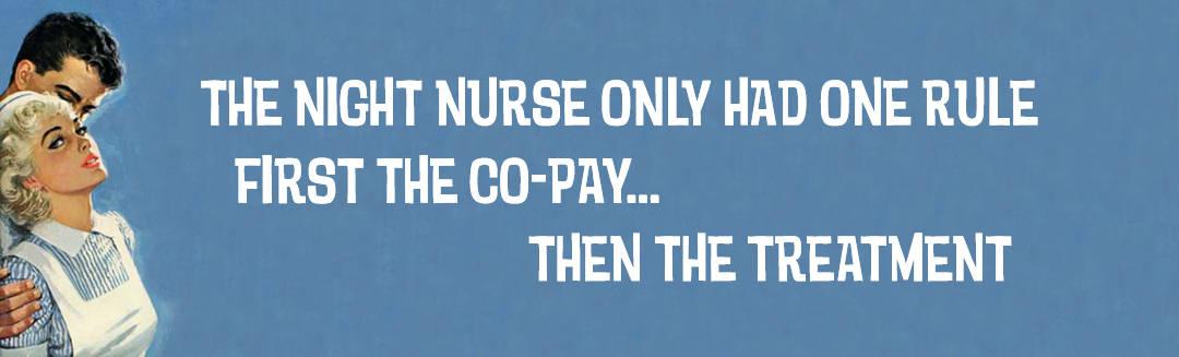Night Nurse - Pulp Banner