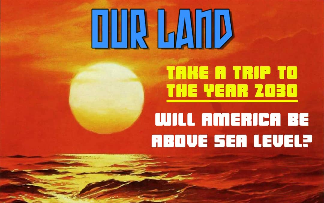 Our Land - Global Warming Banner
