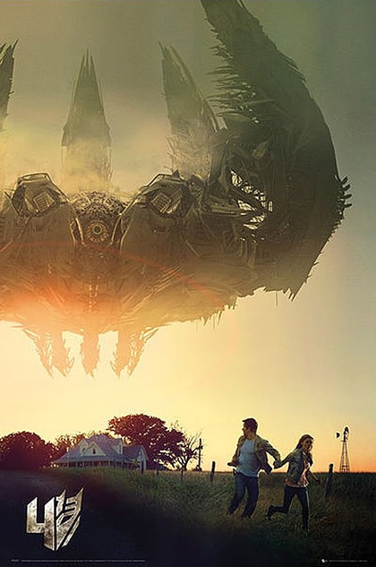 Transformers - Age Of Extinction Movie Poster Review